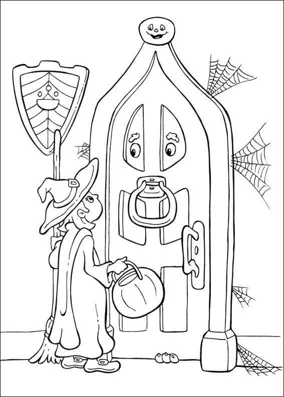 La strega e la porta animata