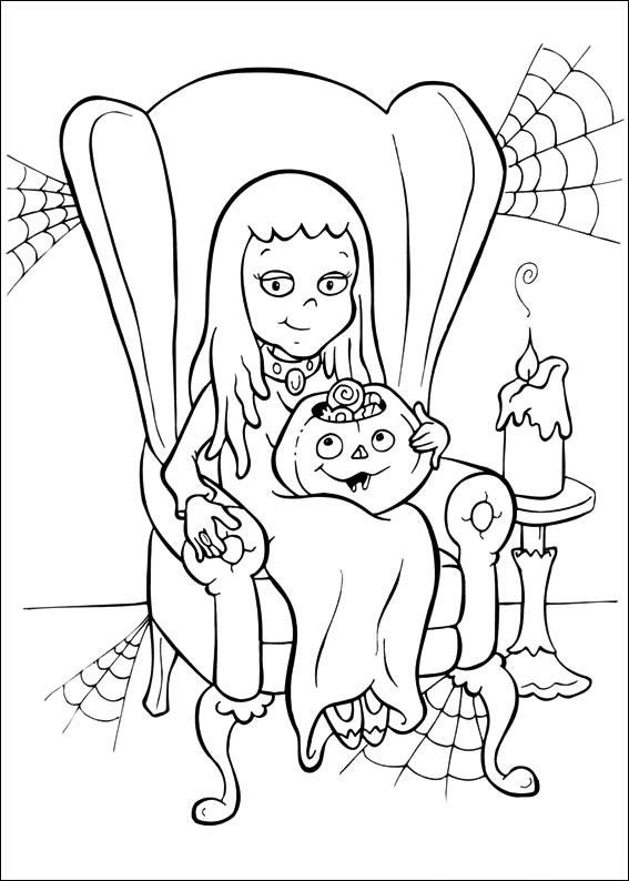 La strega e la zucca