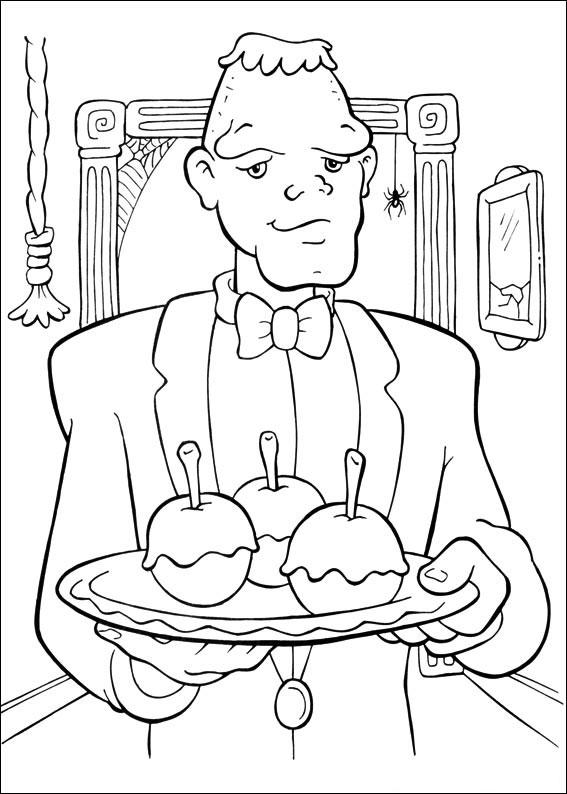 Un mostro cameriere