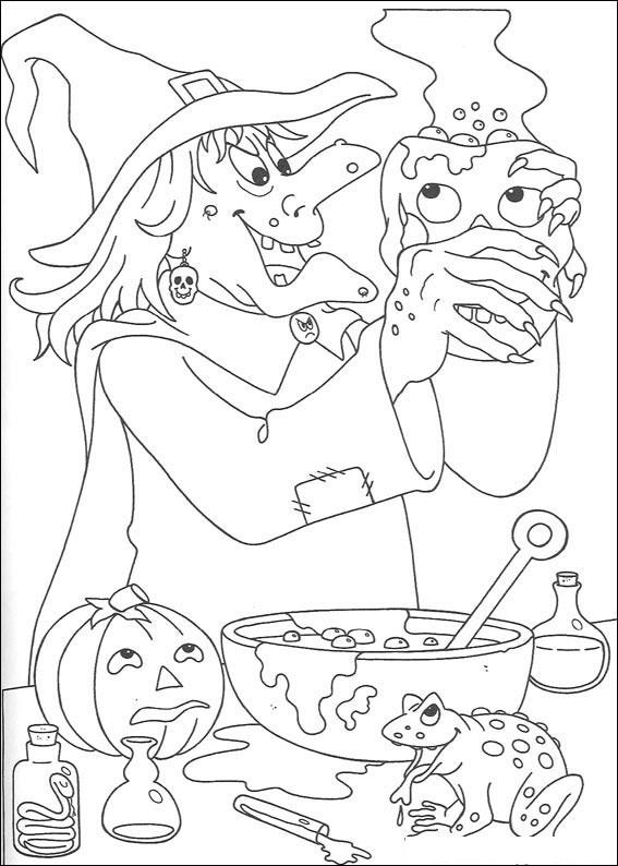La strega in cucina