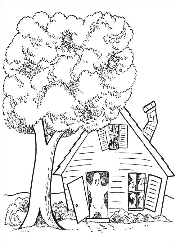 Casa con fantasma