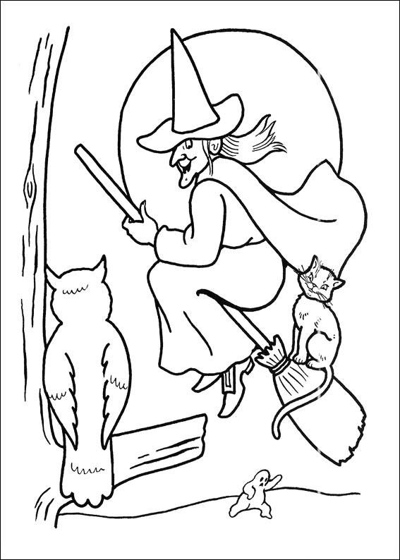 La strega, il gatto e il gufo