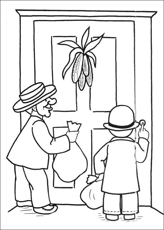 Bambini bussano ad una porta