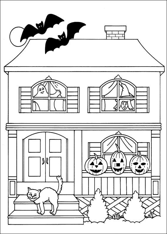 345 Disegni Di Halloween Da Colorare Pianetabambini It