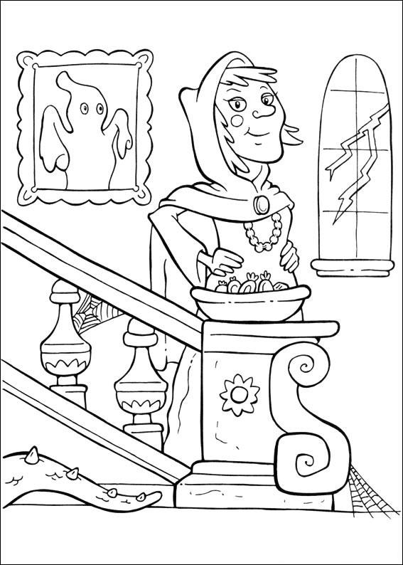 La strega scende le scale