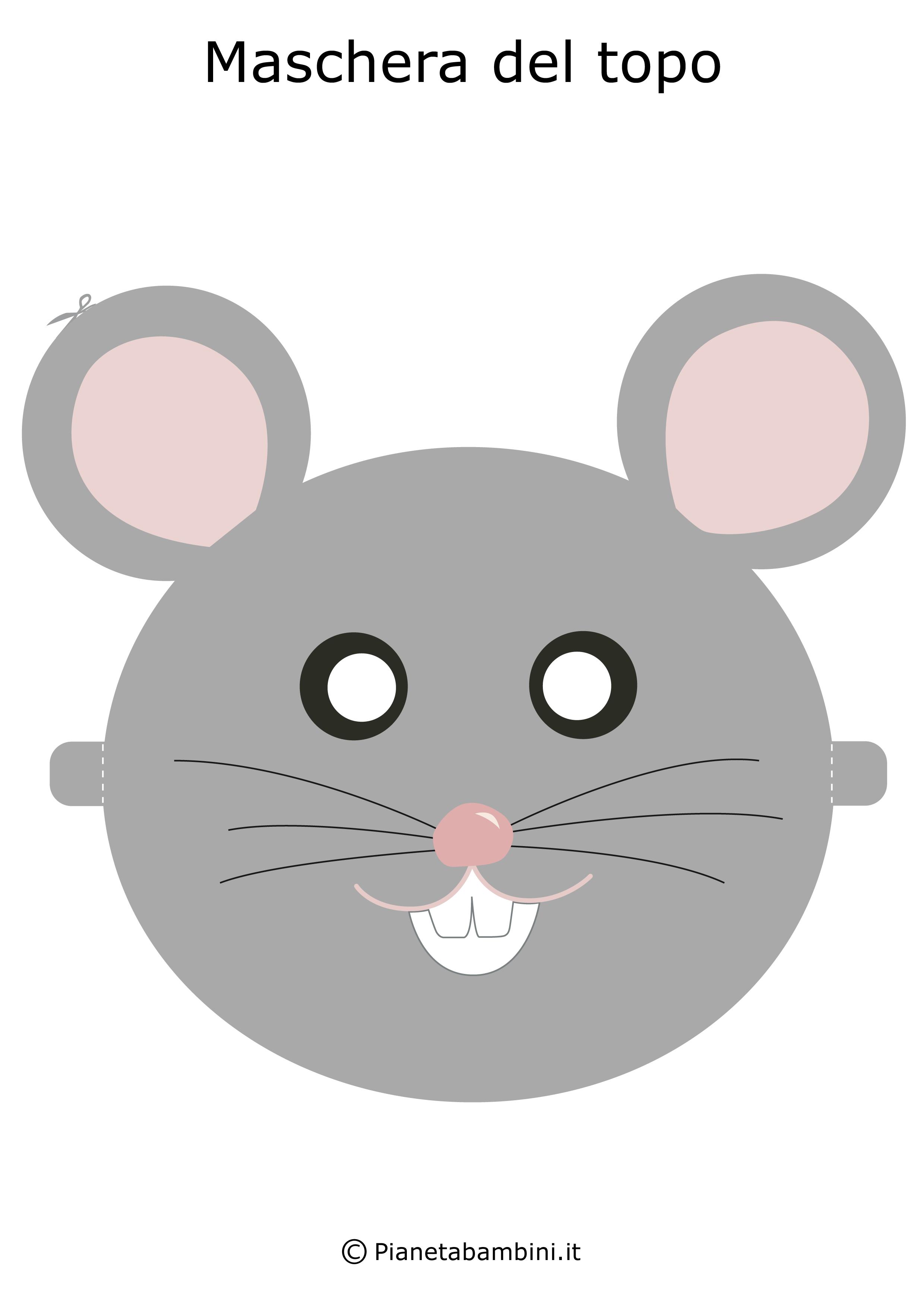 Immagine della maschera del topo