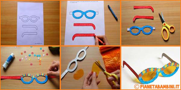 Disegni di occhiali per bambini