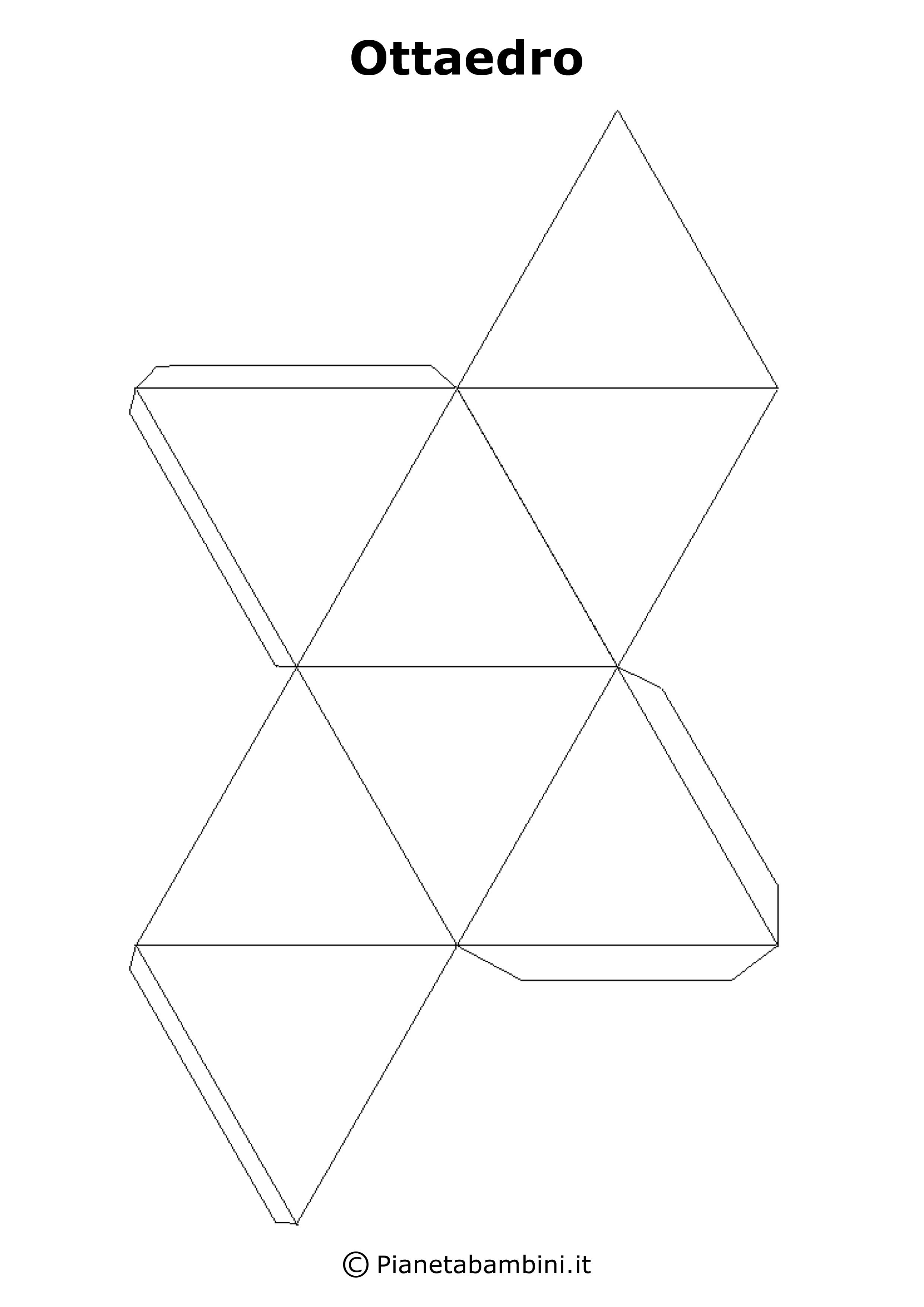 Sviluppo dei solidi figure geometriche da stampare e