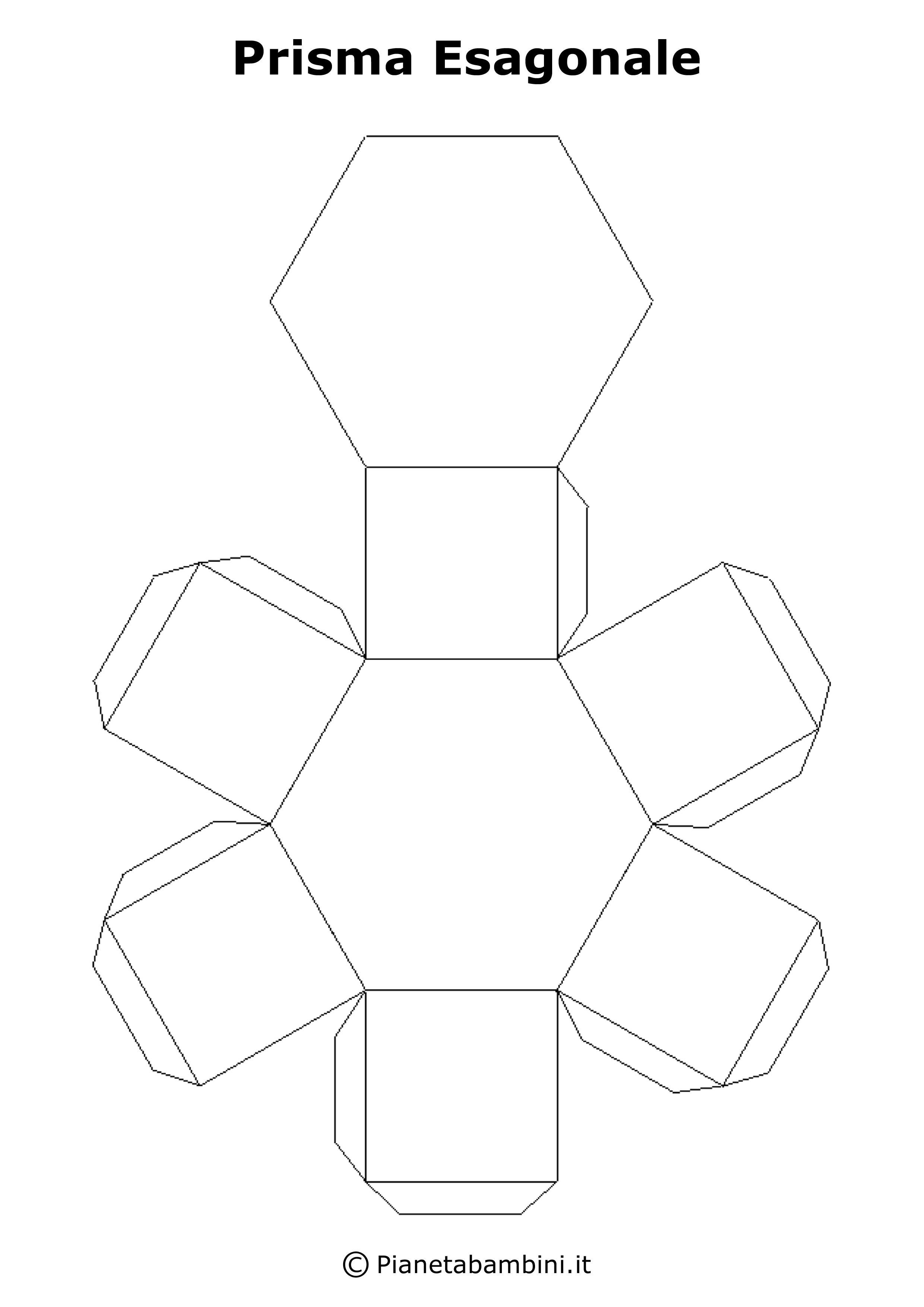 Sviluppo dei solidi figure geometriche da stampare e - Modello di base del fiore ...