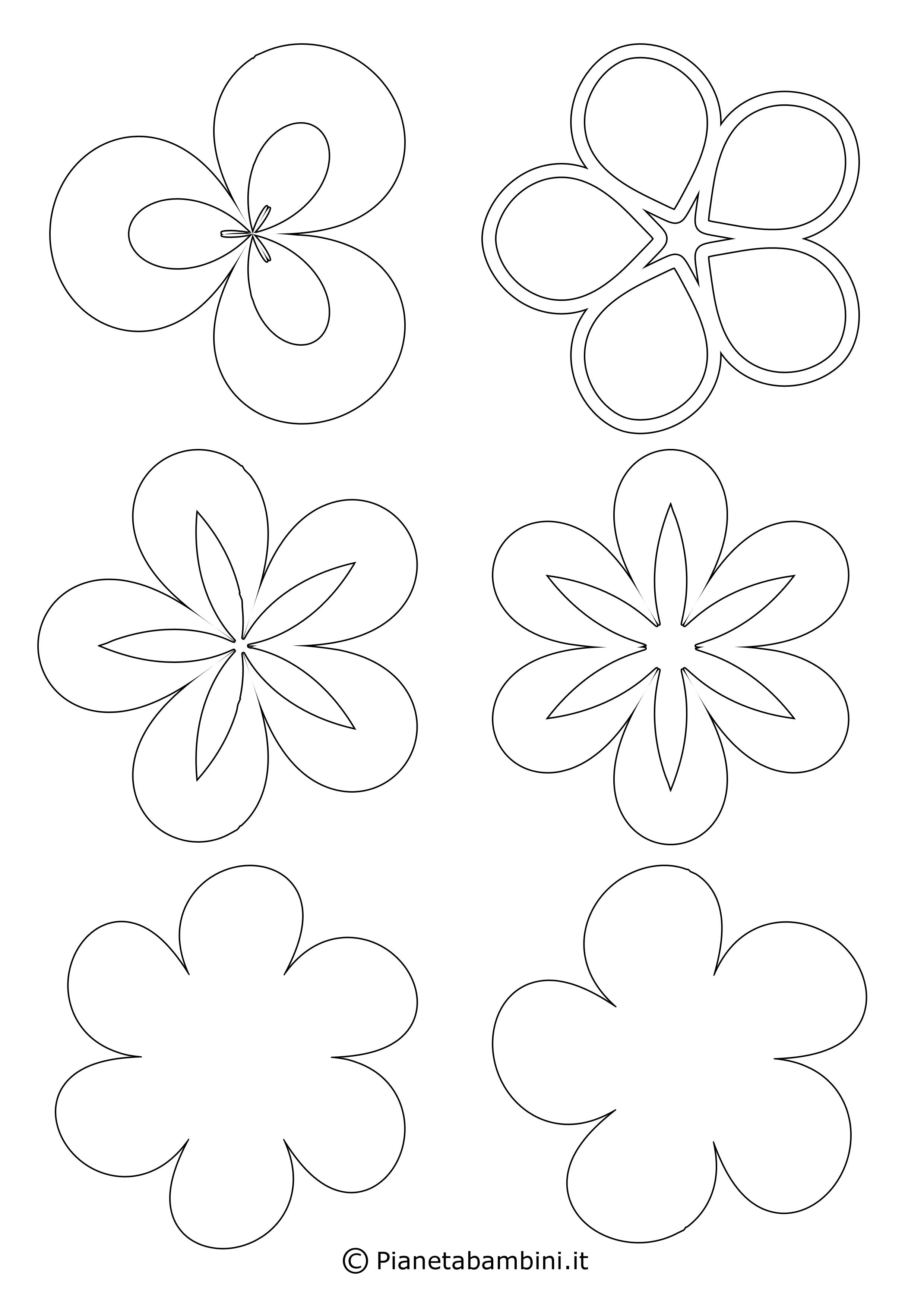 Sagome di fiori piccoli 2