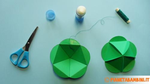 Come aggiungere il filo alle palline