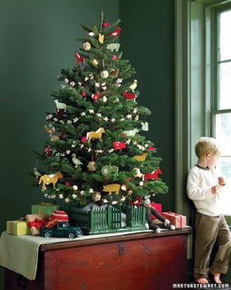 Idee albero di natale casa piccola