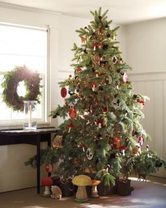 Immagine dell'albero di Natale boscoso