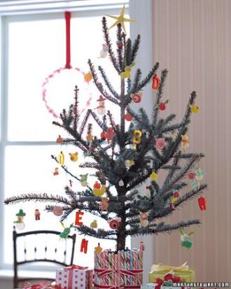 Immagine dell'albero di Natale con caramelle