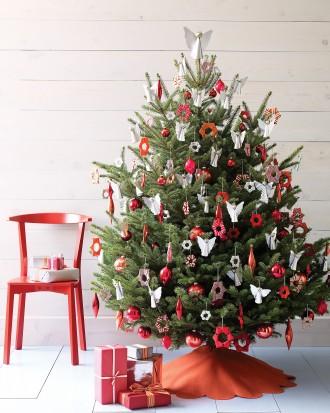 Immagine dell'albero di Natale celestiale