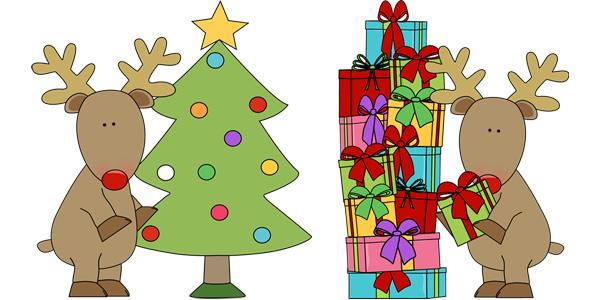 Disegni dell'albero di Natale da colorare per bambini