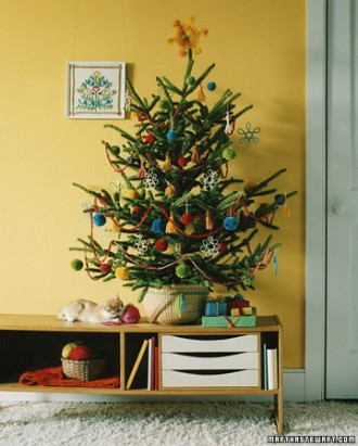 Immagini dell'albero di Natale filato