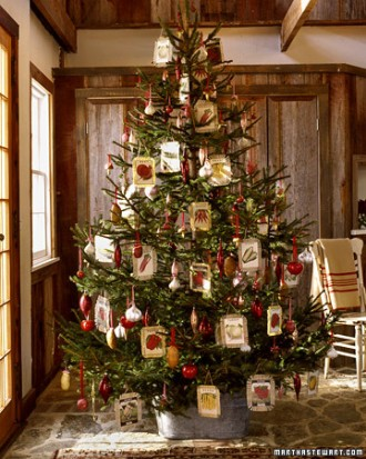 Immagine dell'albero di Natale del giardiniere