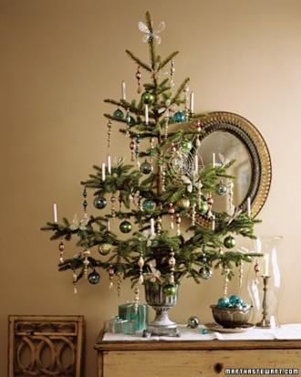 Immagine dell'albero di Natale con ragnatela