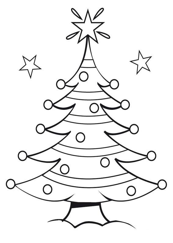 21 Disegni Dell Albero Di Natale Da Colorare Pianetabambini It