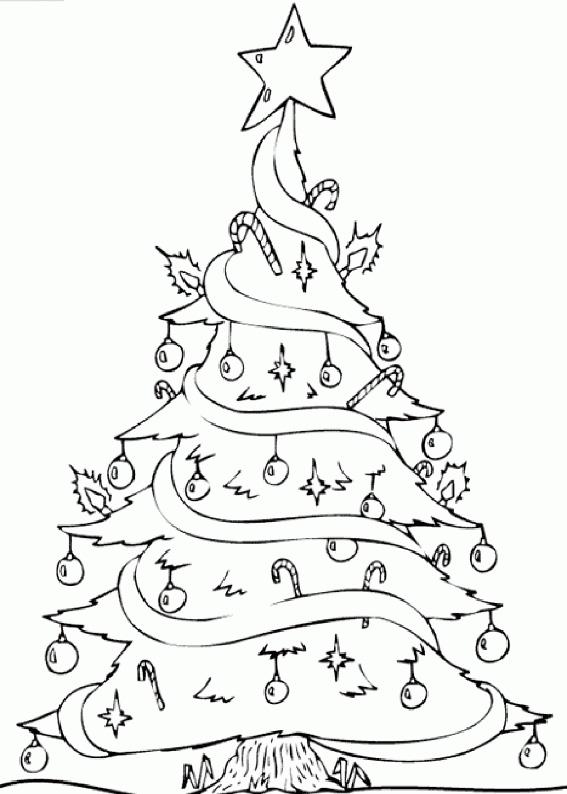 Immagini Dell Albero Di Natale Da Colorare.21 Disegni Dell Albero Di Natale Da Colorare Pianetabambini It