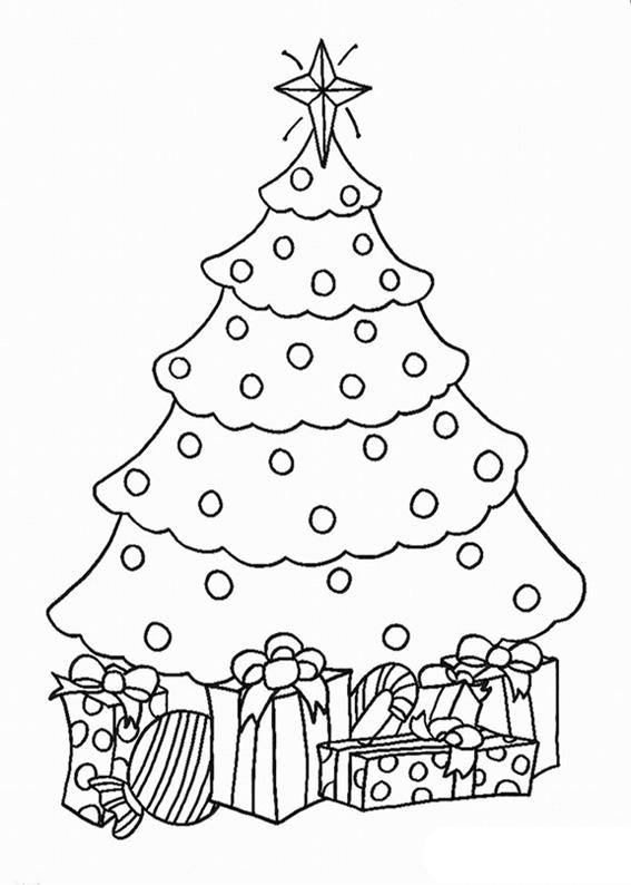 21 disegni dell u0026 39 albero di natale da colorare