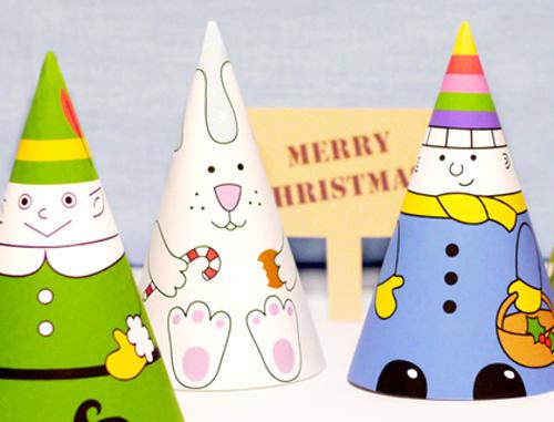 Gli amici di Babbo Natale di carta