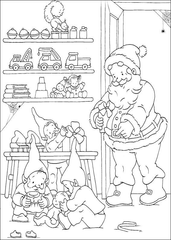 450 Disegni Di Natale Da Colorare Pianetabambini It