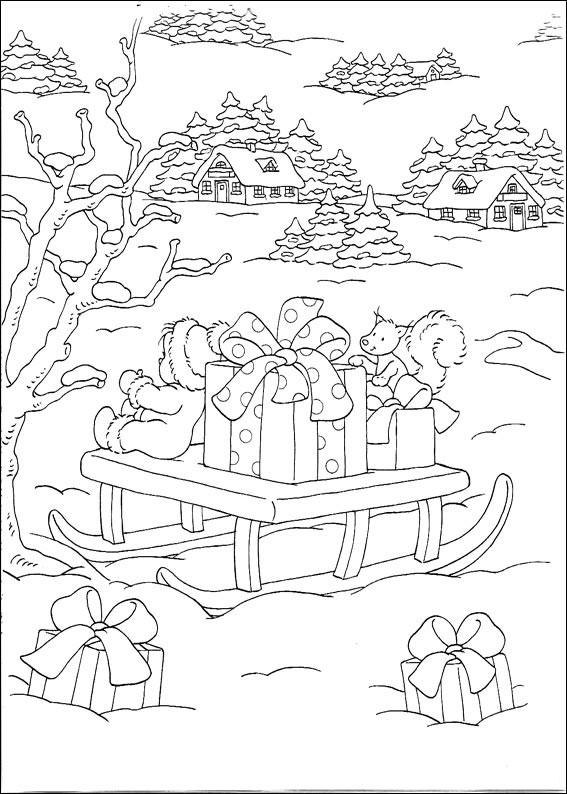 Disegni Di Natale Da Colorare Classe Quinta.470 Disegni Di Natale Da Colorare Pianetabambini It