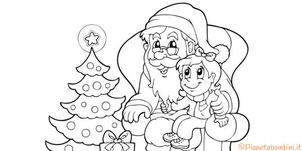 Immagini Da Colorare Babbo Natale.60 Disegni Di Babbo Natale Da Colorare Pianetabambini It