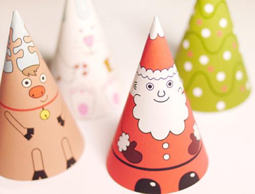 Immagine del Babbo Natale di carta