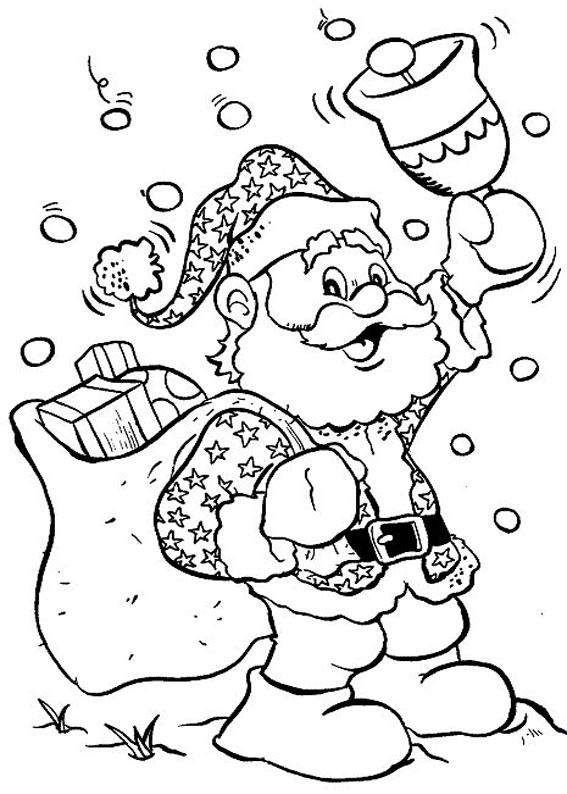 Immagini Da Colorare Babbo Natale.Stampaecoloraweb Disegni Da Colorare Natale