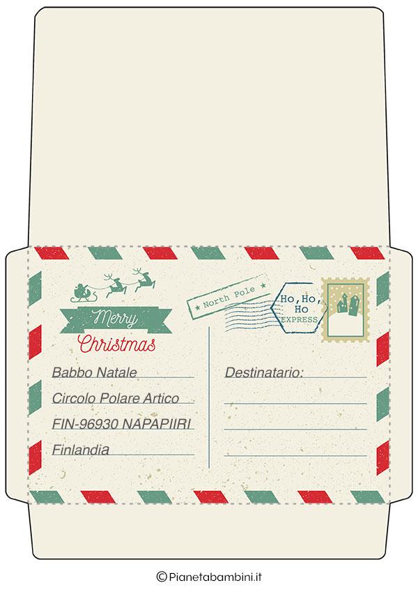 Busta della lettera da Babbo Natale 3