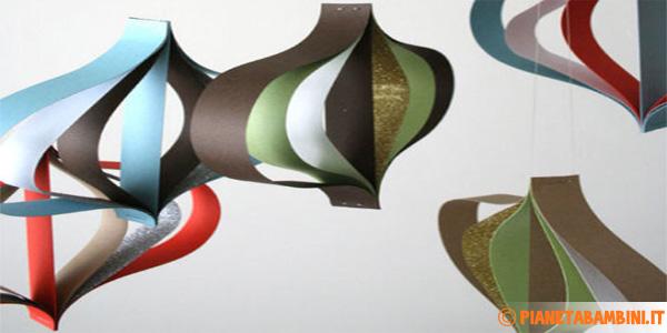 Tutorial ornamenti di carta natalizi