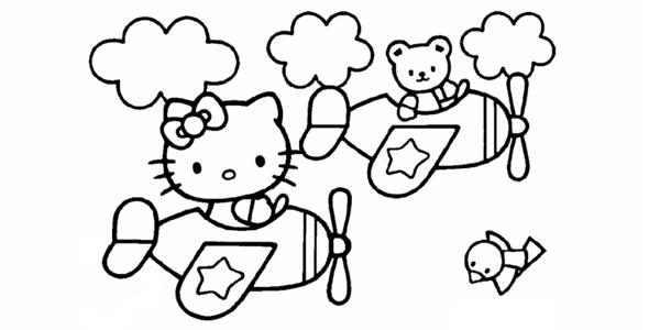 Giochi Hello Kitty Da Colorare.72 Disegni Di Hello Kitty Da Colorare Pianetabambini It