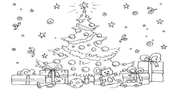 Disegni da stampare e colorare sul Natale