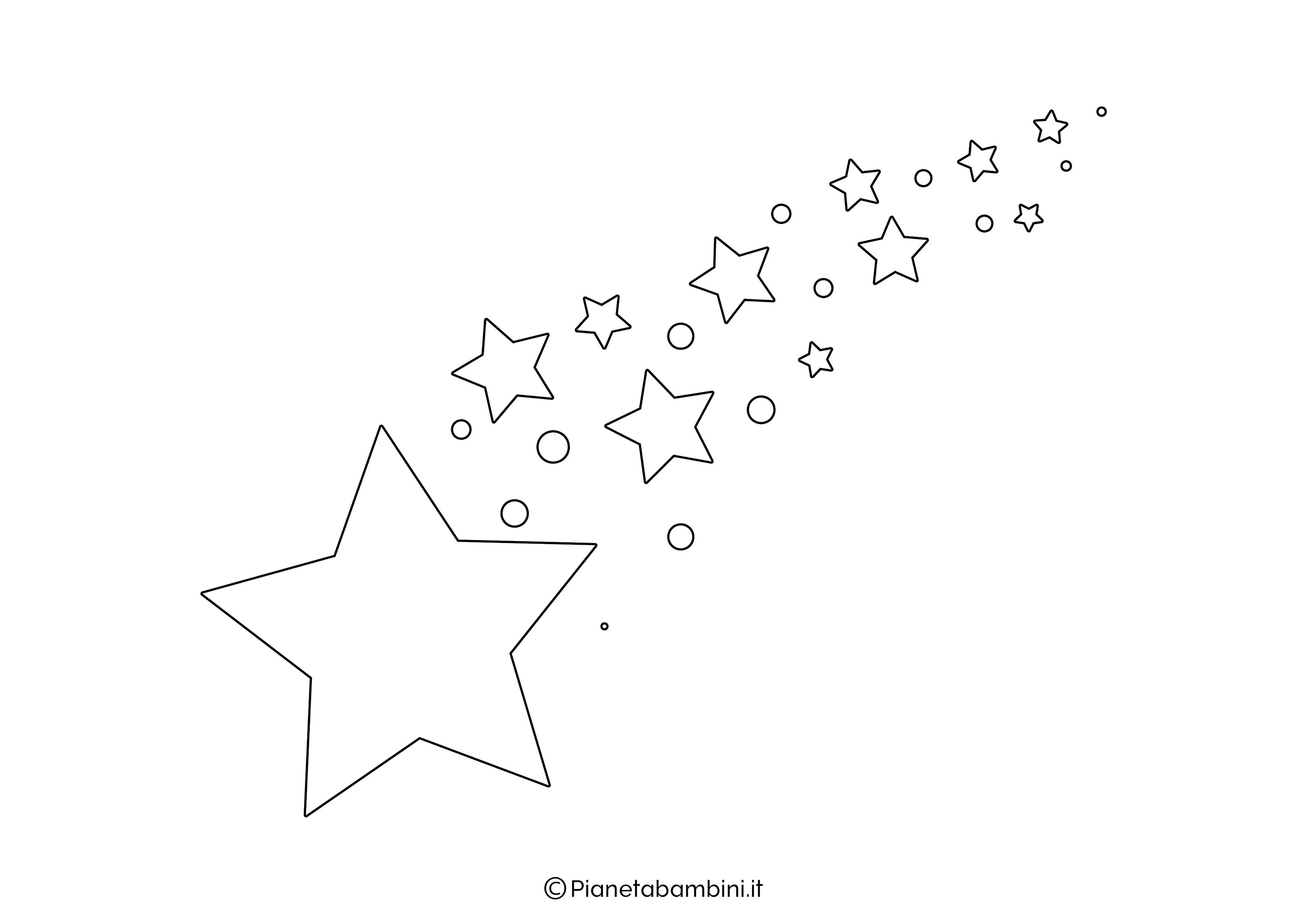 Sagoma Stella Cometa 02