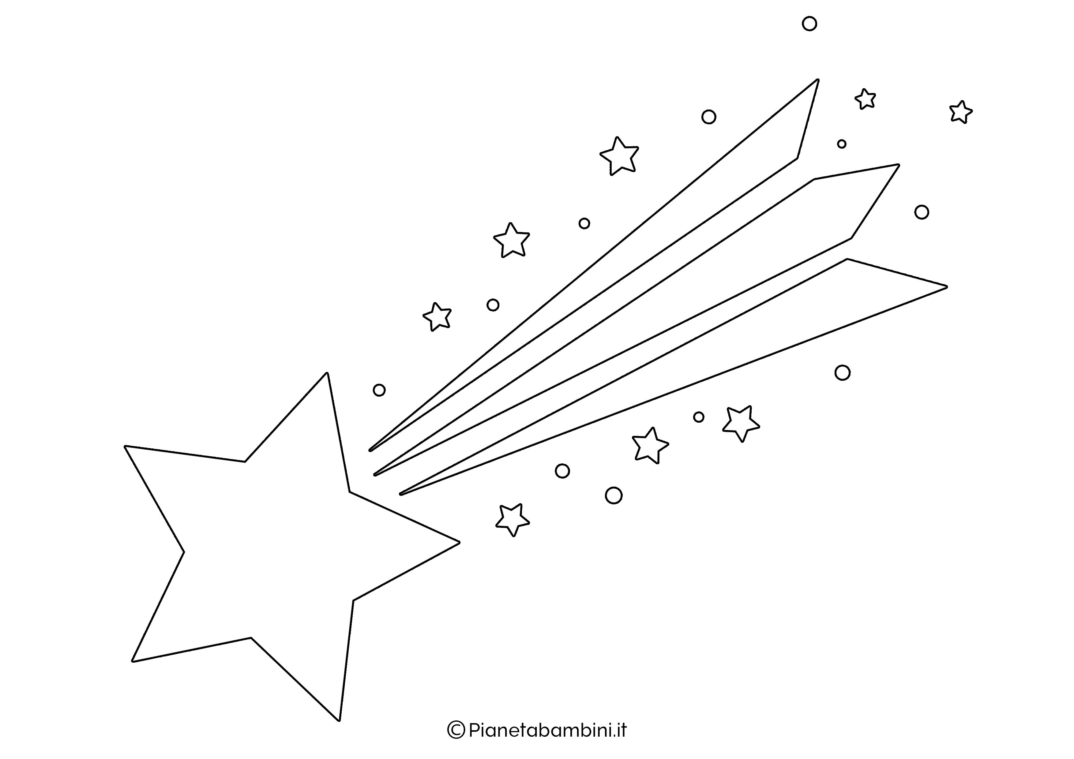 Sagoma Stella Cometa 05