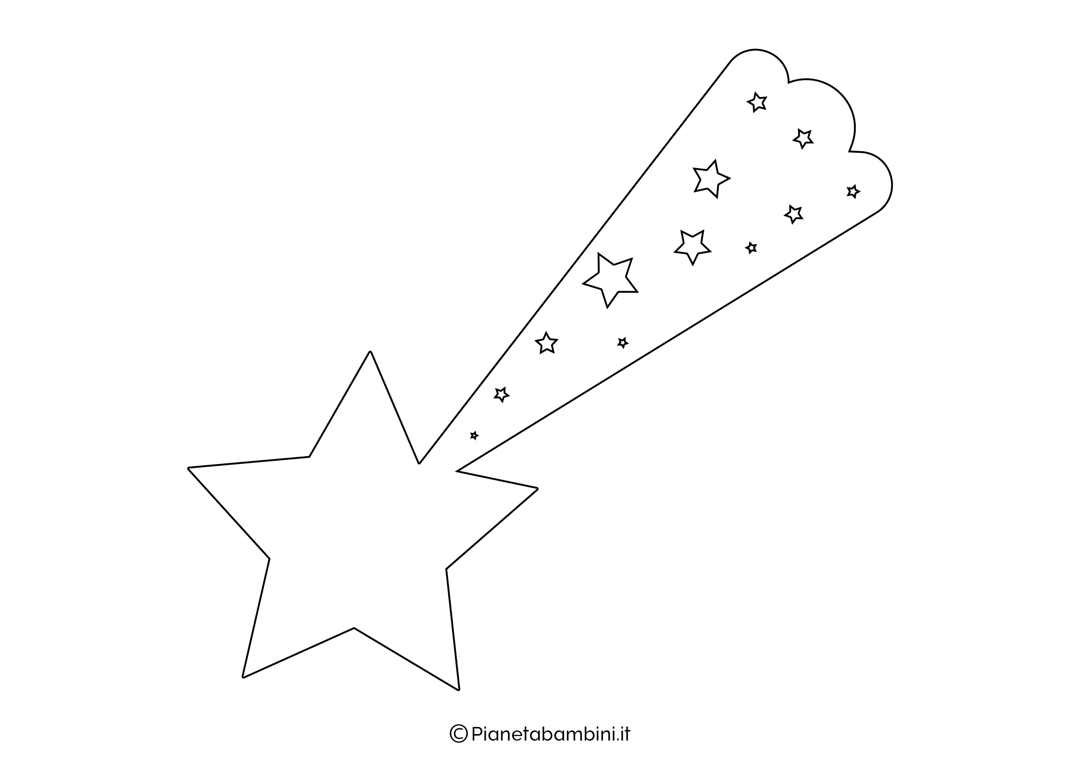 Sagoma Stella Cometa 06