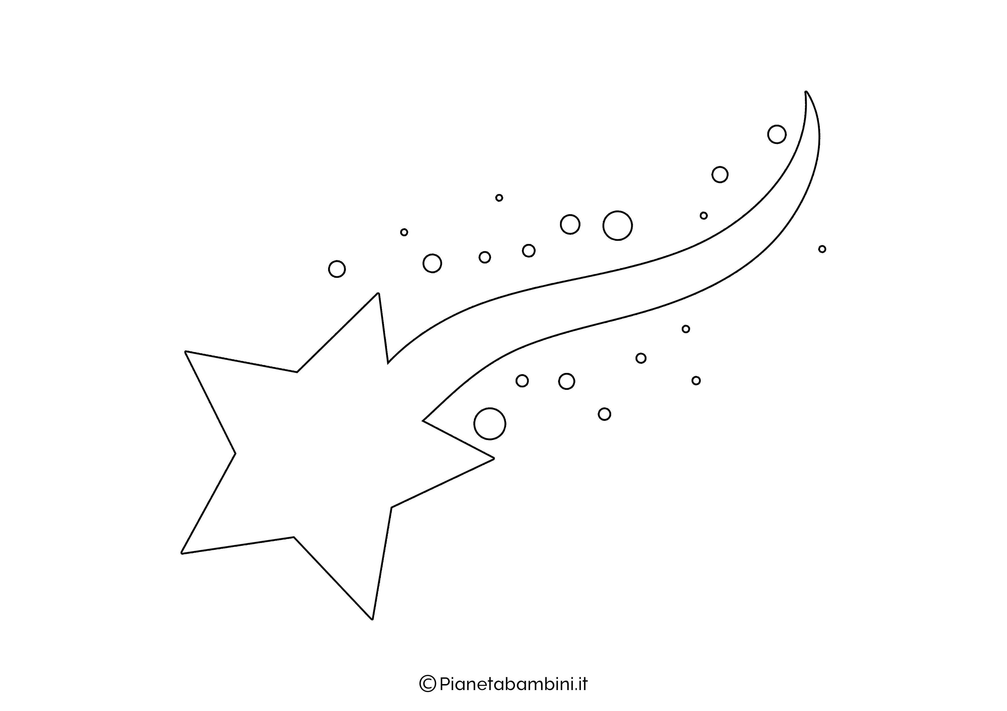 Sagoma Stella Cometa 09