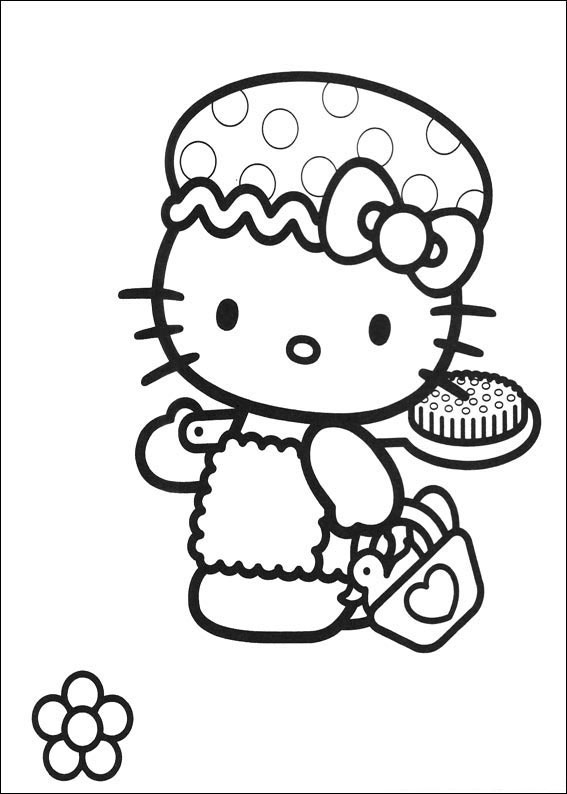 72 Disegni Da Colorare Di Hello Kitty Pianetabambiniit