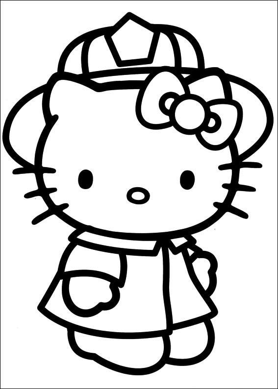 Hello Kitty Da Colorare Stampa Qui Immagini Da Colorare