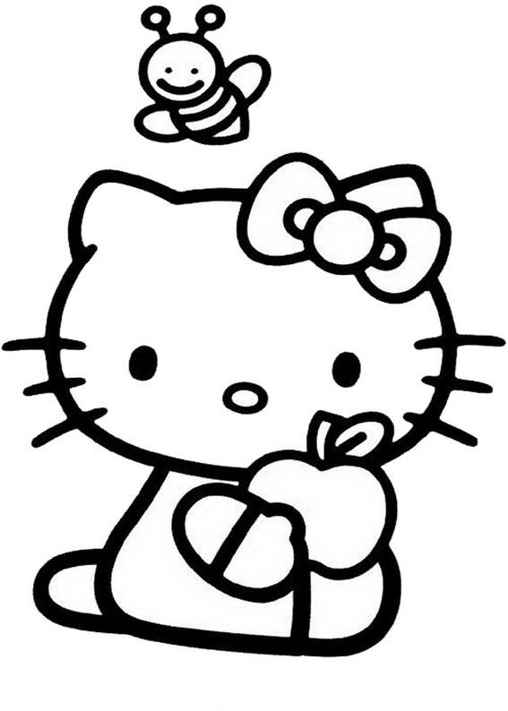72 Disegni Da Colorare Di Hello Kitty Pianetabambini It