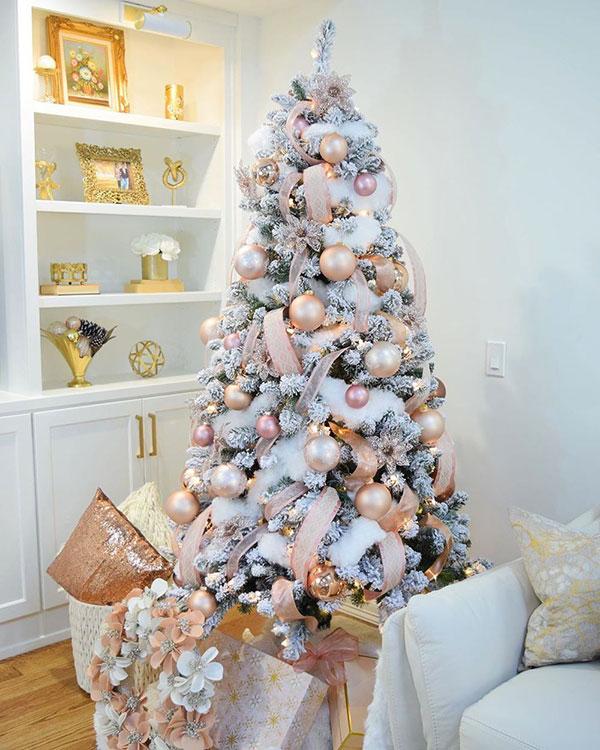 Idee per decorare l'albero di Natale n.01