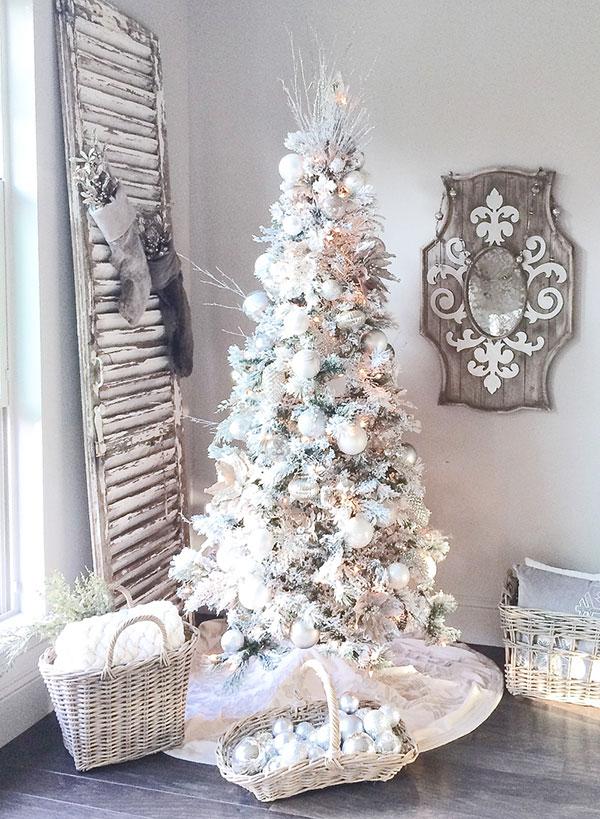 Idee per decorare l'albero di Natale n.03
