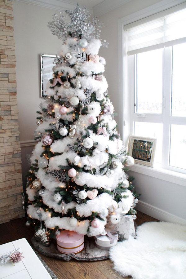 Idee per decorare l'albero di Natale n.04