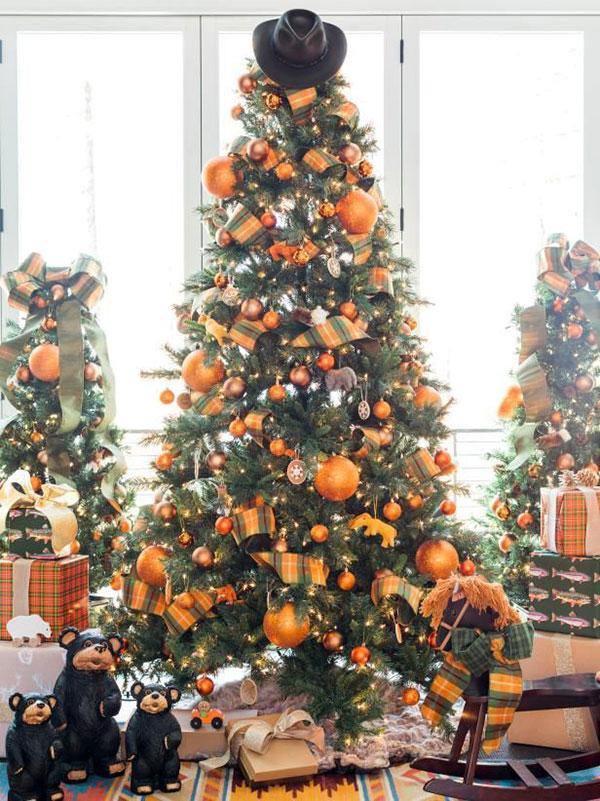 Idee per decorare l'albero di Natale n.05