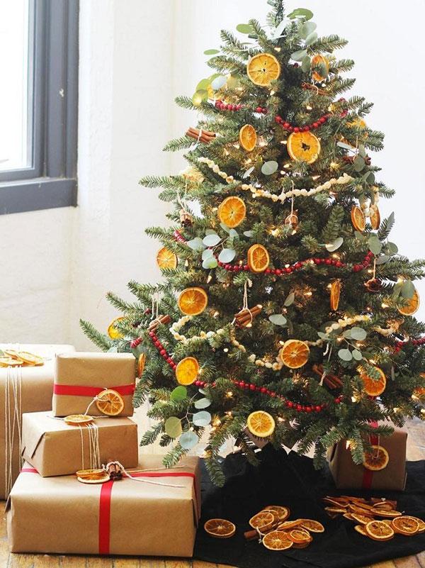 Idee per decorare l'albero di Natale n.06