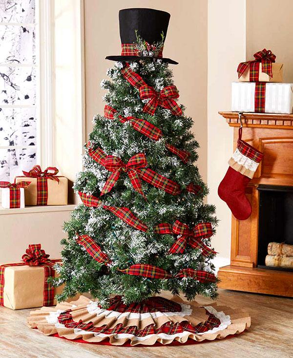 Idee per decorare l'albero di Natale n.07