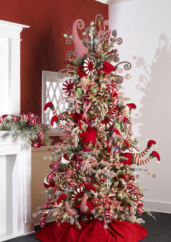 Idee per decorare l'albero di Natale n.08